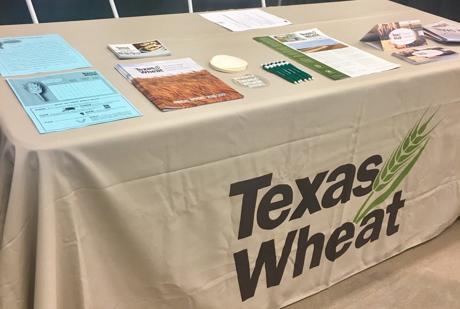 texas wheat booth